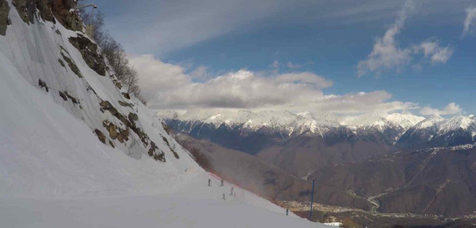 «Русская Швейцария» или горнолыжный курорт в замечательном месте Красная поляна