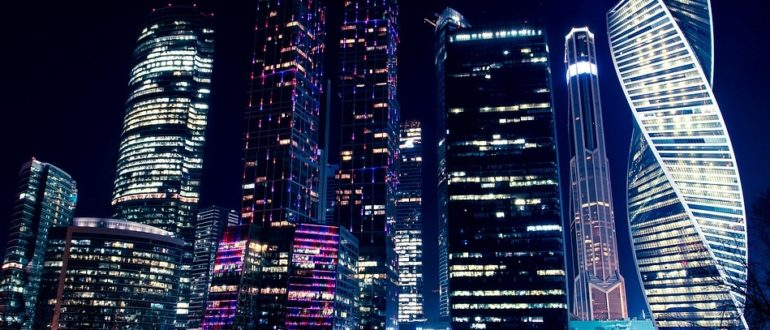 Москва, ночная